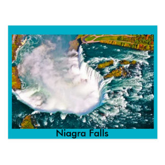 Niagra Falls Air shot post card