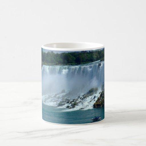 Niagra Falls Basic White Mug