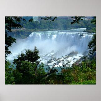 Niagra Falls Canvas Poster