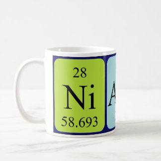 Niamh periodic table name mug