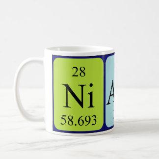 Niamh periodic table name mug