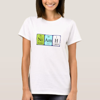 Niamh periodic table name shirt