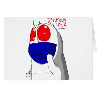 Niap Ramen Rider Greeting Card