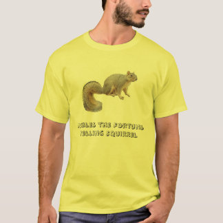 Nibbles the Fortune-Telling Squirrel T-Shirt
