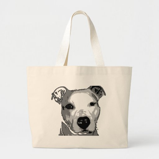 Nibs the Pit Bull Bags
