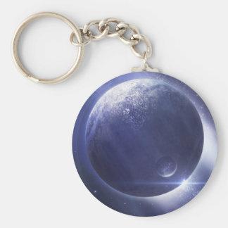 Nibura Basic Round Button Keychain