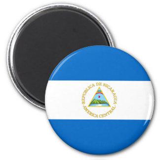 nicaragua 6 cm round magnet