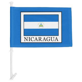 Nicaragua Car Flag