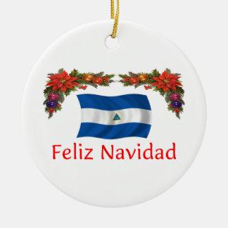 Nicaragua Christmas Christmas Ornament