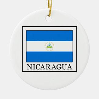 Nicaragua Christmas Ornament