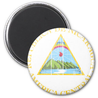 Nicaragua Coat Of Arms Magnet