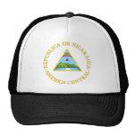 Nicaragua coat of arms mesh hat