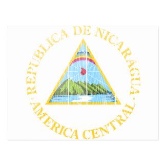 Nicaragua Coat Of Arms Postcard