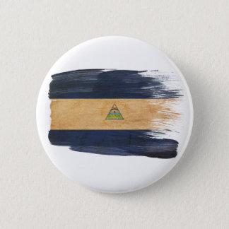 Nicaragua Flag 6 Cm Round Badge