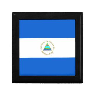 Nicaragua Flag Gift Box