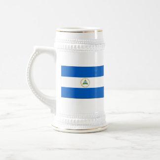 Nicaragua Flag ~ Map Mug