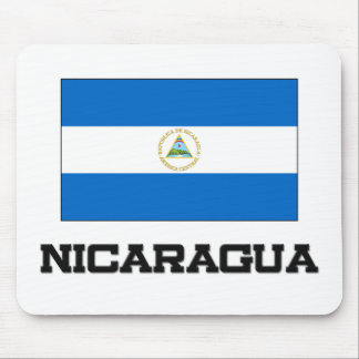 Nicaragua Flag Mouse Pad