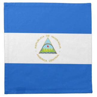 Nicaragua Flag Napkin