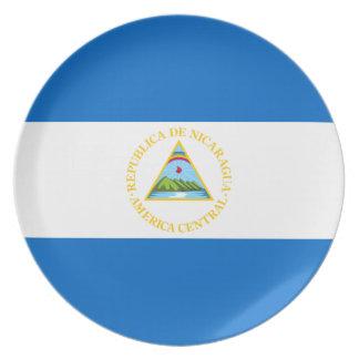 Nicaragua Flag Plate