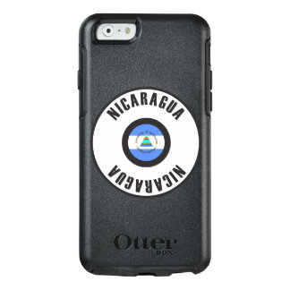 Nicaragua Flag Simple OtterBox iPhone 6/6s Case
