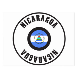 Nicaragua Flag Simple Postcard