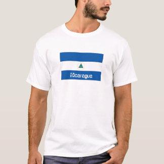 Nicaragua flag souvenir t-shirt