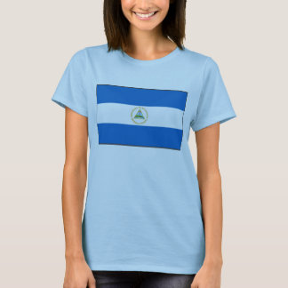Nicaragua Flag x Map T-Shirt