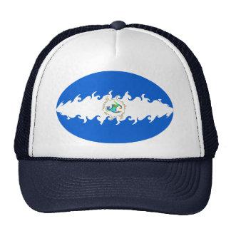 Nicaragua Gnarly Flag Hat