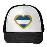 nicaragua-heart. trucker hat