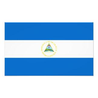 Nicaragua – Nicaraguan Flag Art Photo