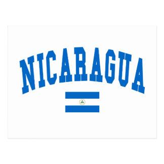 Nicaragua Style Postcard