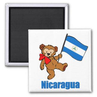 Nicaragua Teddy Bear Magnet