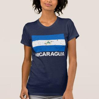 Nicaragua Vintage Flag T-Shirt