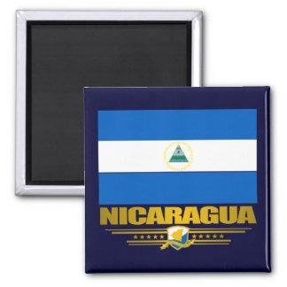 """""""Nicaraguan Pride"""" Square Magnet"""