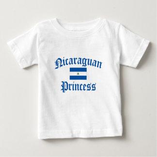 Nicaraguan Princess Baby T-Shirt