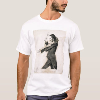 Niccolo Paganini (1782-1840) Playing the Violin, 1 T-Shirt
