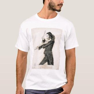Niccolo Paganini (1782-1840) Playing the Violin, 1 T-Shirt