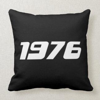 Nice 1976 Print Cushion