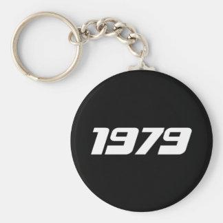 Nice 1979 Print Key Ring
