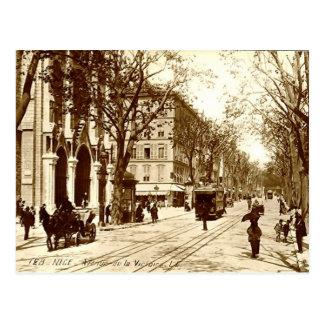 Nice, Avenue de la Victoire Postcard