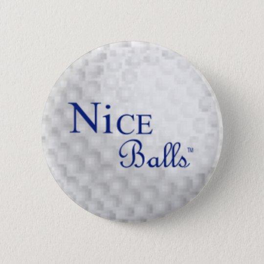 Nice Balls Pin