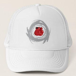 Nice Box Circular Grunge Trucker Hat