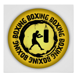 Nice Boxing Seal Poster