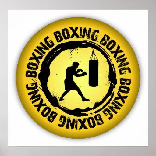 Nice Boxing Seal Print