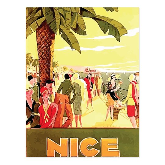 Nice by Lorenzi ~ Vintage Travel Postcard