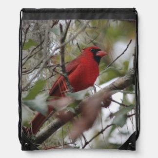 Nice Cardinal photo Rucksack