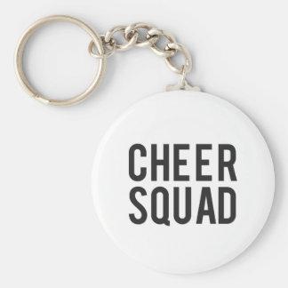 Nice Cheer Squad Print Key Ring