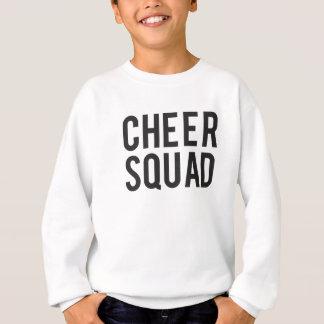 Nice Cheer Squad Print Sweatshirt