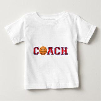 Nice Coach Basketball Insignia Baby T-Shirt