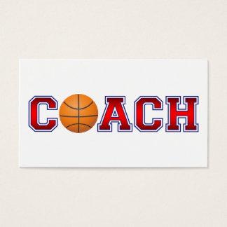 Nice Coach Basketball Insignia Business Card